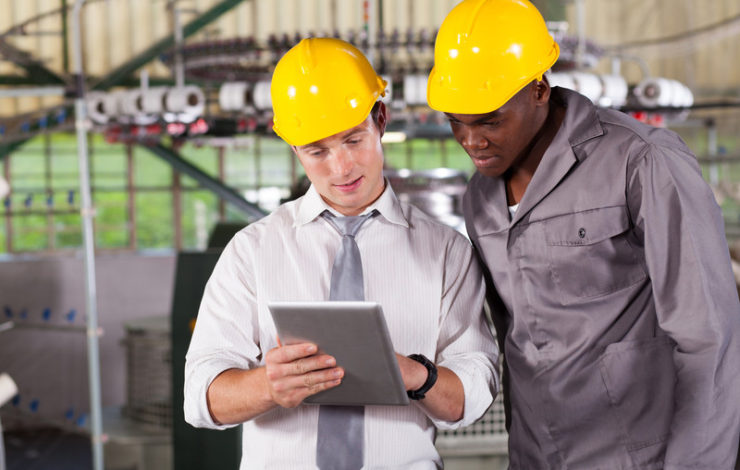 How does a Visitor Management system enhance workplace safety?